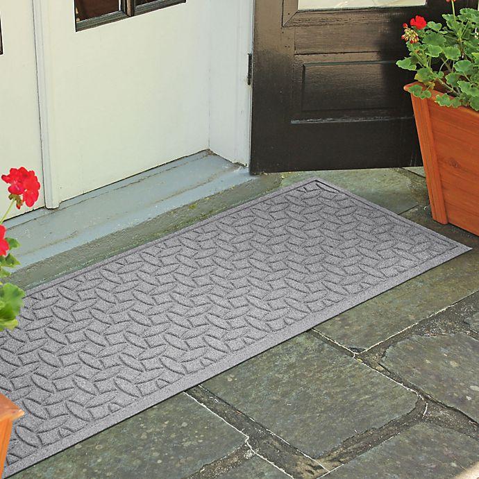 Alternate image 1 for Weather Guard™  Ellipse 22-Inch x 60-Inch Door Mat in Medium Grey