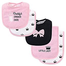 Hudson Baby® 5-Piece Biib/Burp Cloth Set