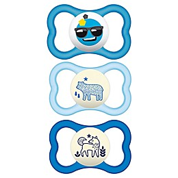 MAM Air Day/Night 3-Pack 6+ Months Glow in the Dark Pacifiers