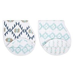 aden + anais® Patterns 2-Piece Burp Cloth Set