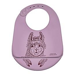 Modern Twist® Llama Bucket Bib in Lavender
