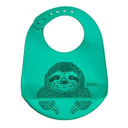 Modern Twist® Sloth Bucket Bib in Green