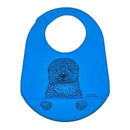 Modern Twist® Otter Bucket Bib in Blue