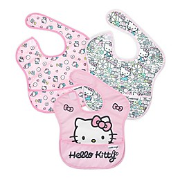 Bumkins® Hello Kitty® 3-Pack SuperBibs® in Black