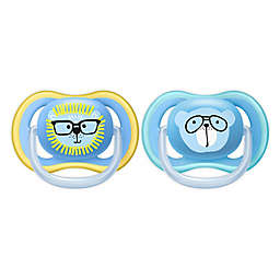 Philips Avent 18-36M Ultra Air 2-Pack Patterns Pacifier