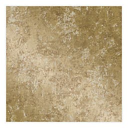 Tempaper® Removable Wallpaper in Distressed Gold