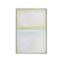 Martha Stewart Dvinsk Series Framed 25.84-Inch x 37.84-Inch Canvas Wall Art with Gel Coat in Multi