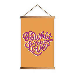 "RoomMates® ""Do What You Love"" 11.75-Inch x 18.5-Inch Wall Hanging"