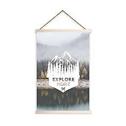 "RoomMates® ""Explore More"" 11.75-Inch x 18.5-Inch Wall Hanging"