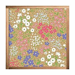 RoomMates® Floral 10-Inch Square Cork Board
