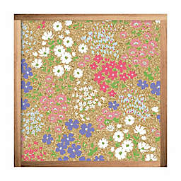 RoomMates® Floral 10-Inch Square Cork Board
