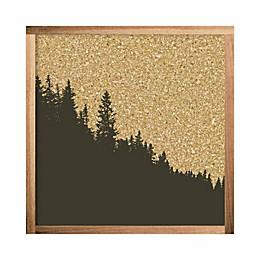 RoomMates® Mountain Range 10-Inch Square Cork Board