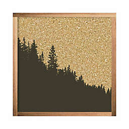 RoomMates® Mountain Range 10-Inch Square Cork Board
