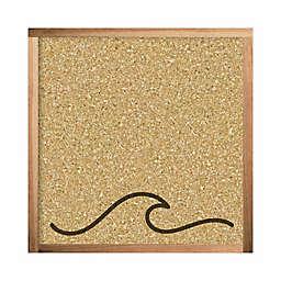 RoomMates® Wave Cork 10-Inch Wood Wall Art