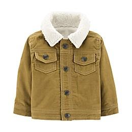 carter's® Corduroy and Fleece Jacket in Brown
