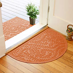 Weather Guard™  Boxwood 24-Inch x 39-Inch Half Oval Door Mat
