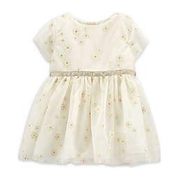 OshKosh B'gosh® Floral Puff Dress in Ivory