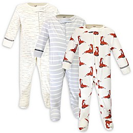 Touched by Nature® 3-Pack Fox Organic Cotton Sleep 'N Plays