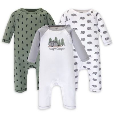 Happy Camper 5-Pack Touched by Nature Organic Cotton Bodysuits