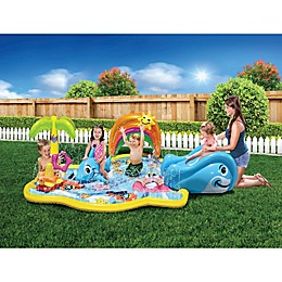 Banzai Splish Splash Inflatable Water Park