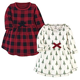 Touched by Nature 2-Pack Organic Cotton Holiday Dress Set