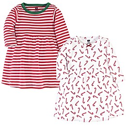 Hudson Baby® 2-Pack Long Sleeve Dresses