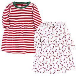 Hudson Baby® 2-Pack Long Sleeve Dresses