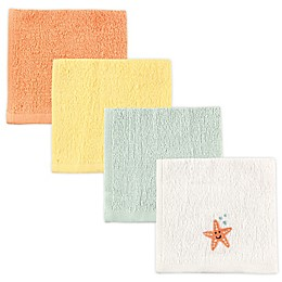 Luvable Friends® 4-Pack Washcloths