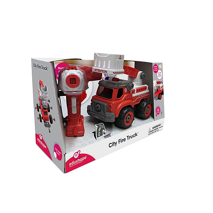 Alternate image 1 for Edushape® Remote Control City Fire Truck®