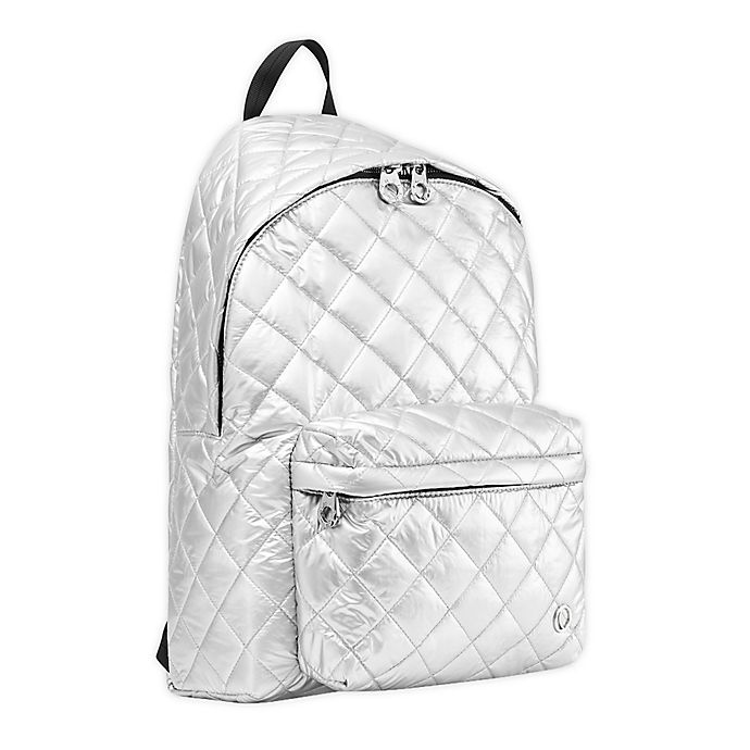Alternate image 1 for Thea Thea Soleil Quilted Diaper Backpack
