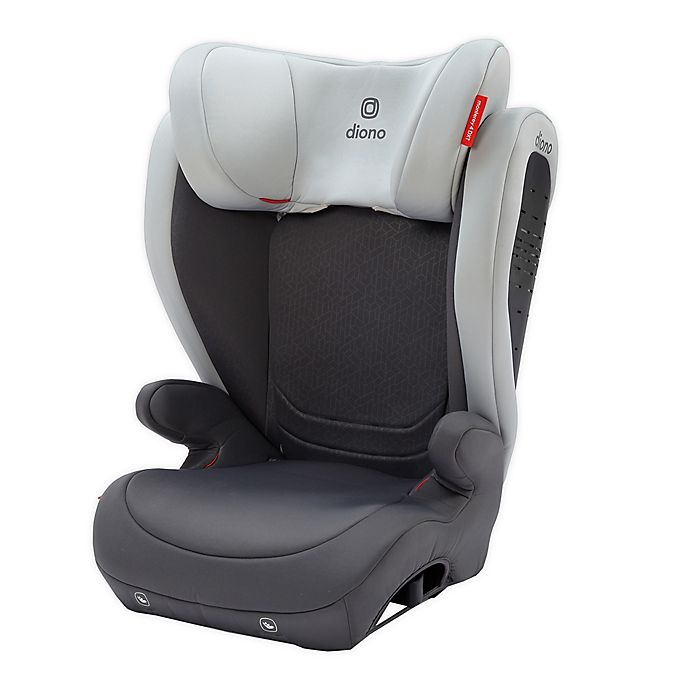Alternate image 1 for Diono® Monterey® 4DXT Expandable Booster Seat in Oyster Grey