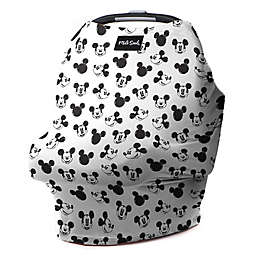 Milk Snob® Multi-Use Mickey Sketch Car Seat Cover in Black/White