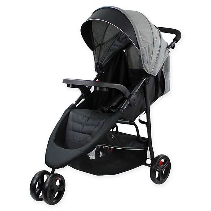 Alternate image 1 for Evezo Celerio Lightweight Stroller