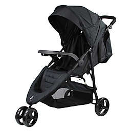 Evezo Celerio Lightweight Stroller in Black