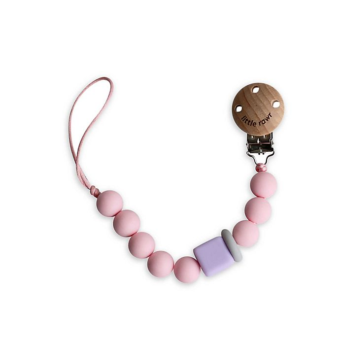 Alternate image 1 for Little Rawr™ Silicone and Wood Pacifinder Beads