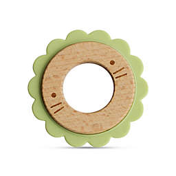 Little Rawr™ Silicone and Wood Critter Teething Ring