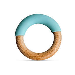 Little Rawr™ Silicone and Wood Teething Ring