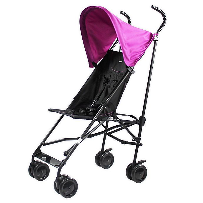 Alternate image 1 for Evezo Kalena Lightweight City Stroller in Purple