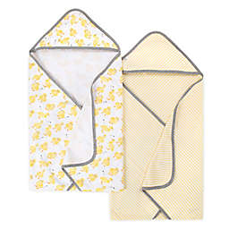 Burt's Bees Baby® 2-Pack Organic Cotton Hooded Towels in Sun