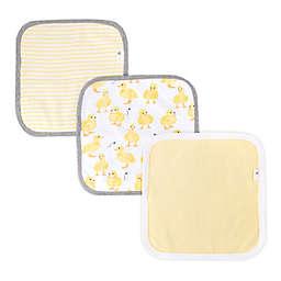 Burt's Bees Baby® 3-Pack Organic Cotton Washcloths in Sun