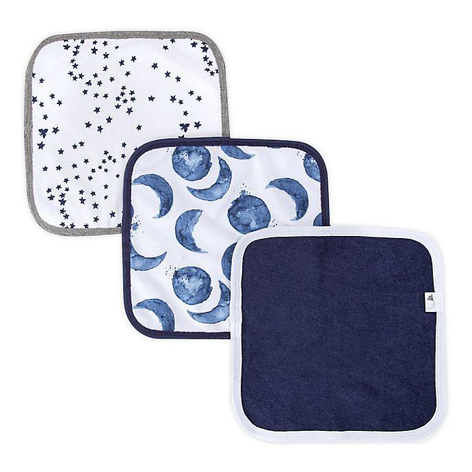 Alternate image 1 for Burt's Bees Baby® 3-Pack Organic Cotton Washcloths
