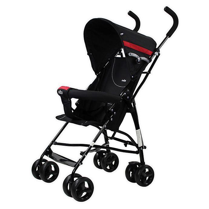 Alternate image 1 for Evezo Sander Lightweight Stroller
