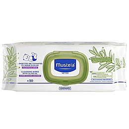 Mustela® 50-Count Cleansing Wipes with Olive Oil