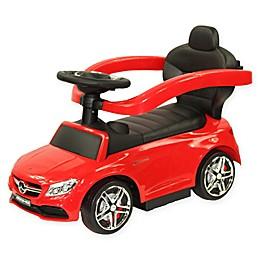 Evezo Mercedes AMG C63 Coupe Ride-On Push Car