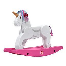Step2® Unicorn Rocker Horse in White