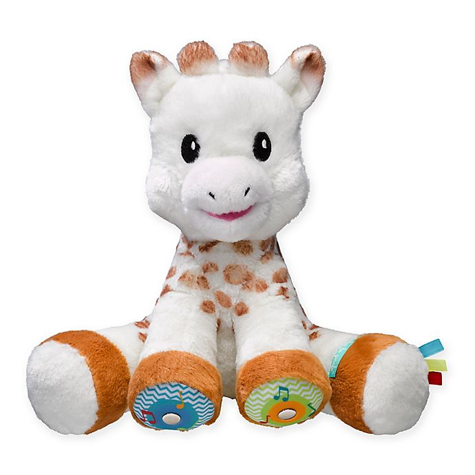 Alternate image 1 for Sophie la girafe® Touch & Music Play Plush