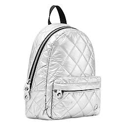 Thea Thea Soleil Mini Diaper Backpack in Silver Ice