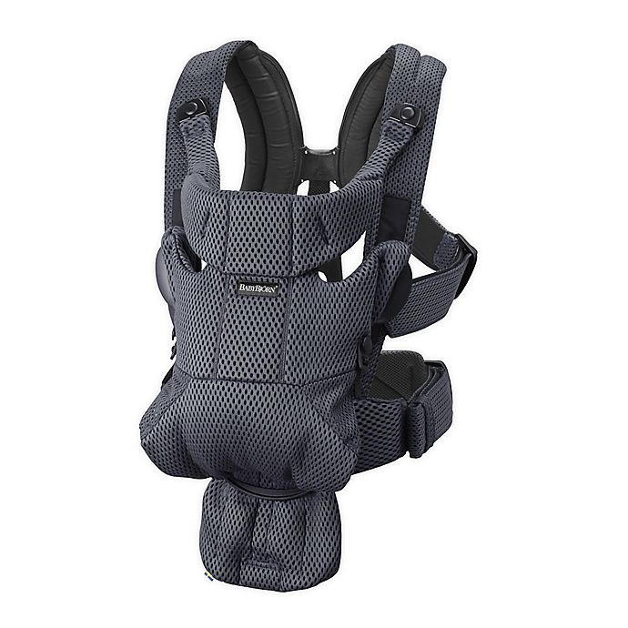 Alternate image 1 for BABYBJÖRN® Baby Carrier Free in Anthracite 3D Mesh