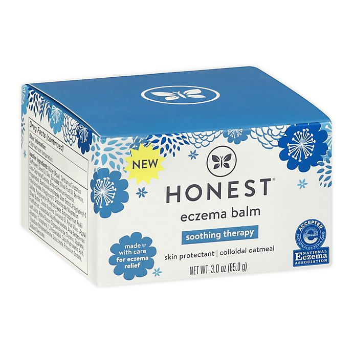 Alternate image 1 for The Honest Company® 3 oz. Eczema Soothing Therapy Balm