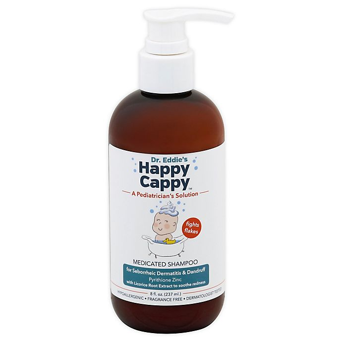 Alternate image 1 for Dr. Eddie's 8 fl. oz. Happy Cappy Medicated Shampoo and Body Wash